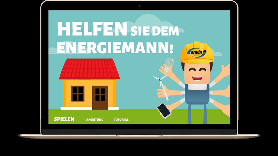 enviaM – Energiemann braucht Hilfe