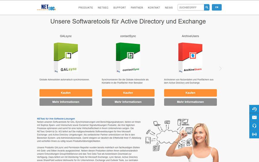 Corporate Website NETsec