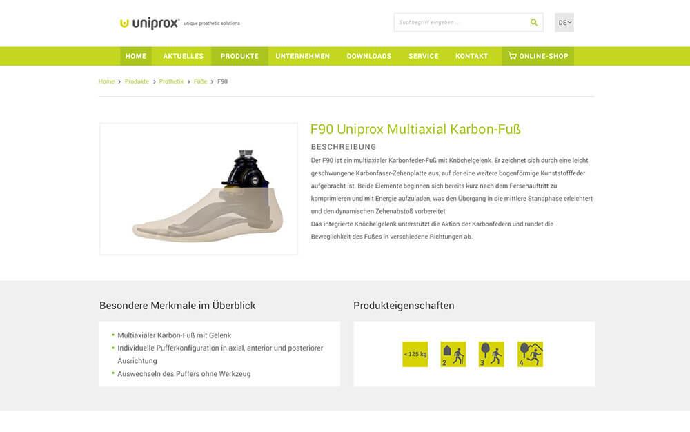 Corporate Website Uniprox