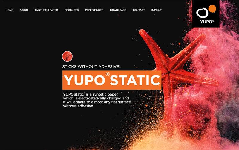 Yupo Website Relaunch