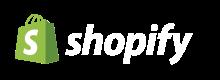 logo shopify weiß