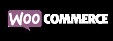 logo woocommerce weiß