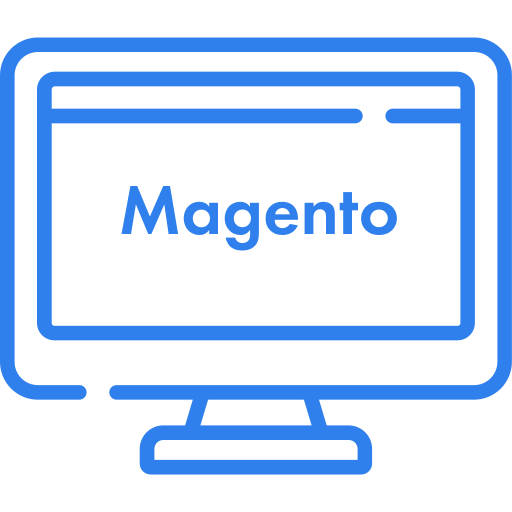 Icon Bildschirm Magento